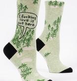 I Fucking Love It Women's Socks