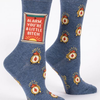 Alarm Bitch Women's Socks