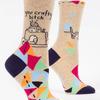 You Crafty Bitch Women's Socks