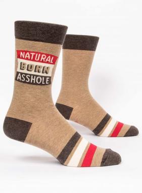 Natural Born Asshole Men's Socks