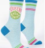Queen Bitch Mountain Women's Socks (D)