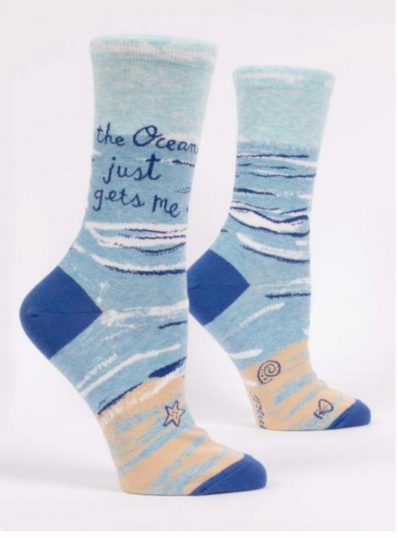 Ocean Gets Me Women's Socks