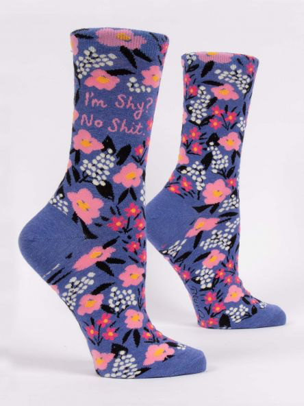 I'm Shy? No Shit Women's Socks