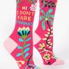 Hi, I Don't Care Women's Socks