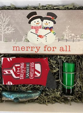 """Roots-Holiday Gift Box """"Merry Merry"""""""