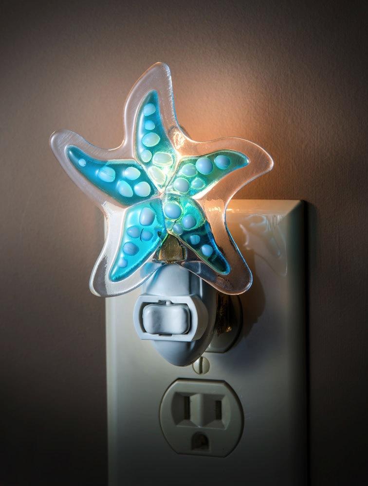 Night Light - Fused Starfish