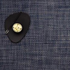 "Chilewich Basketweave Table Mat - Denim 14"" x 19"""