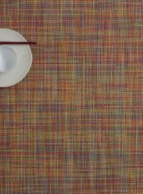 """Chilewich Mini Basket Table Mat - Confetti 14"""" x 19"""""""