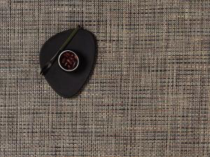 """Chilewich Basketweave Table Mat - Bark 14"""" x 19"""""""