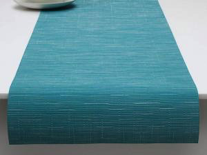 """Chilewich Bamboo Table Runner - Teal 14"""" x 72"""""""
