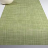 "Chilewich Mini Basketweave Table Runner - Dill 14"" x 72"""