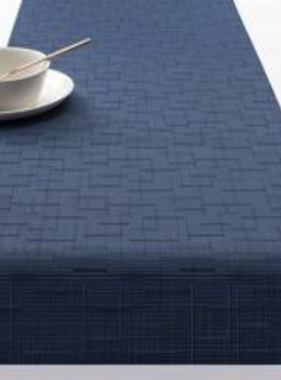 """Chilewich Bamboo Table Runner - Lapis 14"""" x 72"""""""