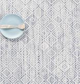 "Chilewich Mosaic Table Mat - Blue 14"" x 19"""
