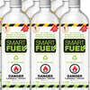 Smart Fuel 6 Pack- 6 1-Liter Bottles - Bio Ethanol for Carefree Fireplaces