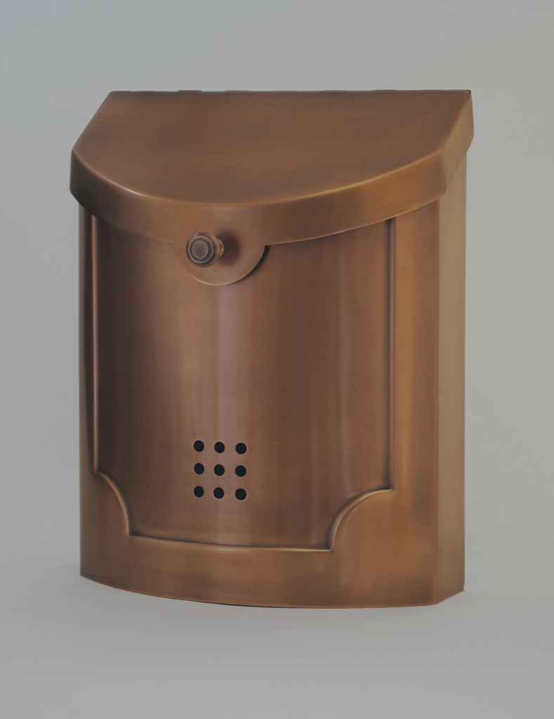 "Contemporary Mailbox Copper 11"" x 14"" x 4.5"""