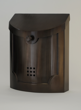"""Contemporary Mailbox Bronze 11"""" x 14"""" x 4.5"""""""