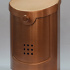 "Contemporary Mailbox Copper 8.5"" x 12""H x 4""D"