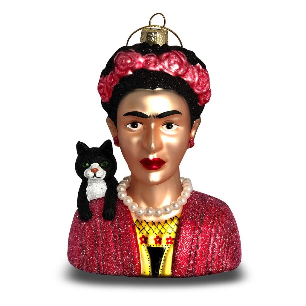 Women We Admire Ornament - Frida Kahlo