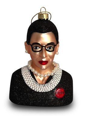 Women We Admire Ornament - Ruth Bader Ginsberg