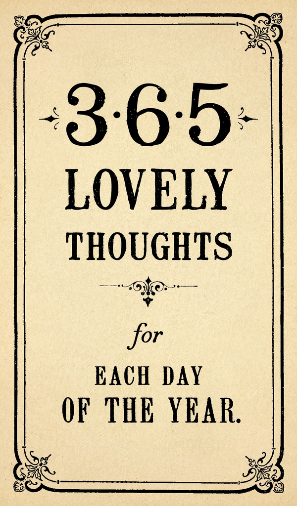 365 Lovely Thoughts