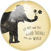"Put Good Things Paperweight  4"" x 4"" PW131"