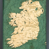"Ireland Wood Map 16"" x 20"""