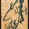 """Puget Sound Wood Carving 24.5""""W x 31""""L"""