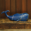 """Reclaimed Metal Whale - Md 15.75"""" x 6"""" x 6"""""""