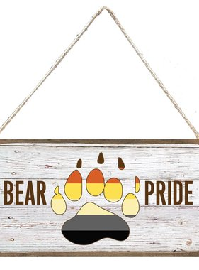 Signs of Hope - Bear Pride Rainbow Paw