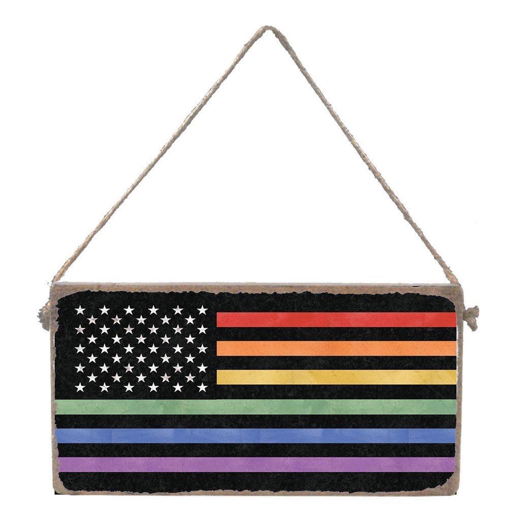 Signs of Hope - Rainbow Flag