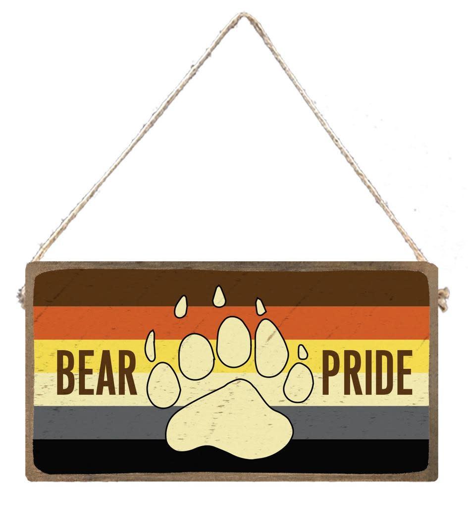 Signs of Hope - Bear Pride Rainbow Plank
