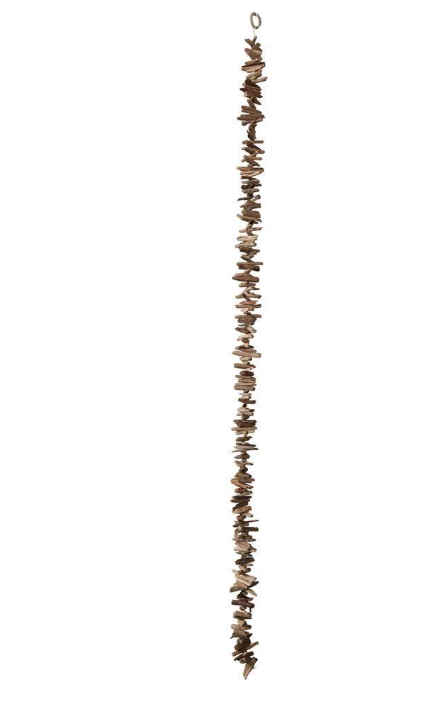 """Natural Driftwood Garland 70""""L"""