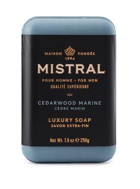 French Bar Soap - Cedarwood Marine 7.9oz
