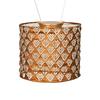 "Solar Lantern - Drum Copper 6.5"" x 8"""