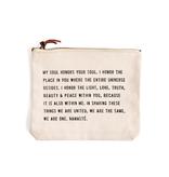 My Soul Honors Canvas Bag - (D)