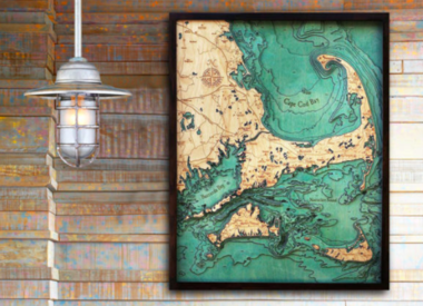 Maps, Trays, Clocks & Pillows