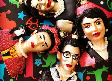 """Women We Admire"" Ornaments"