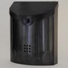 "Contemporary Mailbox Black Pewter 11"" x 14"" x 4.5"""