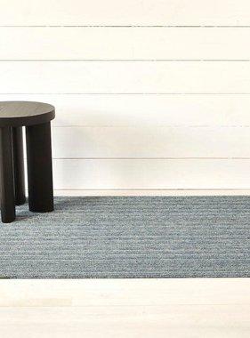 """Chilewich Skinny Stripe Shag Big Mat- Forest 36"""" x 60"""""""