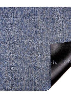 """Chilewich Heathered Shag Doormat - Cornflower 18"""" x 28"""""""