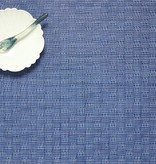 """Chilewich Bayweave Table Mat - Blue Jean 14"""" x 19"""""""