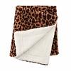 Leopard Faux Fur Blanket