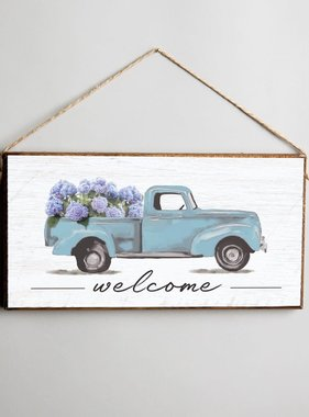 Signs of Hope - Hydrangea Truck Welcome
