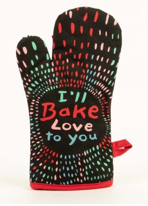 I'll Bake Love Oven Mitt