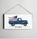 Signs of Hope - PTOWN Rainbow Flag Truck