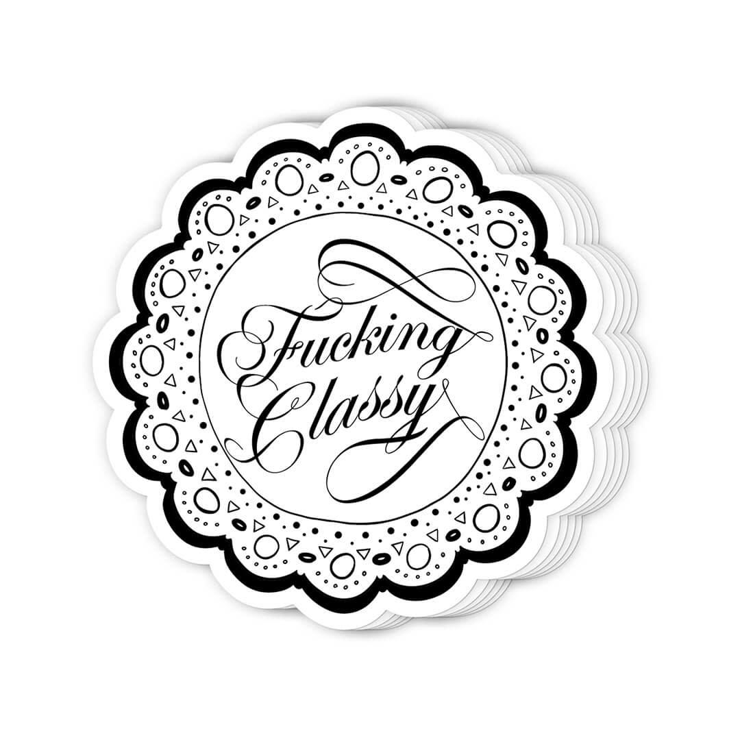 Stickers - Fucking Classy