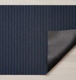 """Chilewich Breton Stripe Shag Doormat - Blueberry 18"""" x 28"""""""