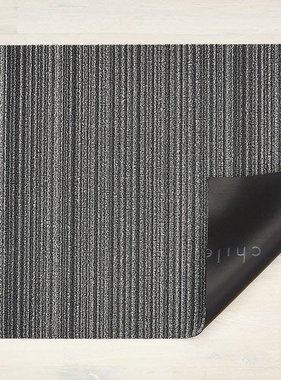 """Chilewich Skinny Stripe Shag Doormat - Shadow 18"""" x 26"""""""