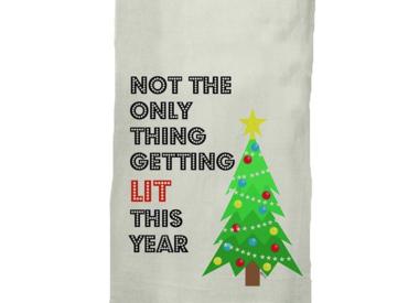 Naughty Holiday Towels