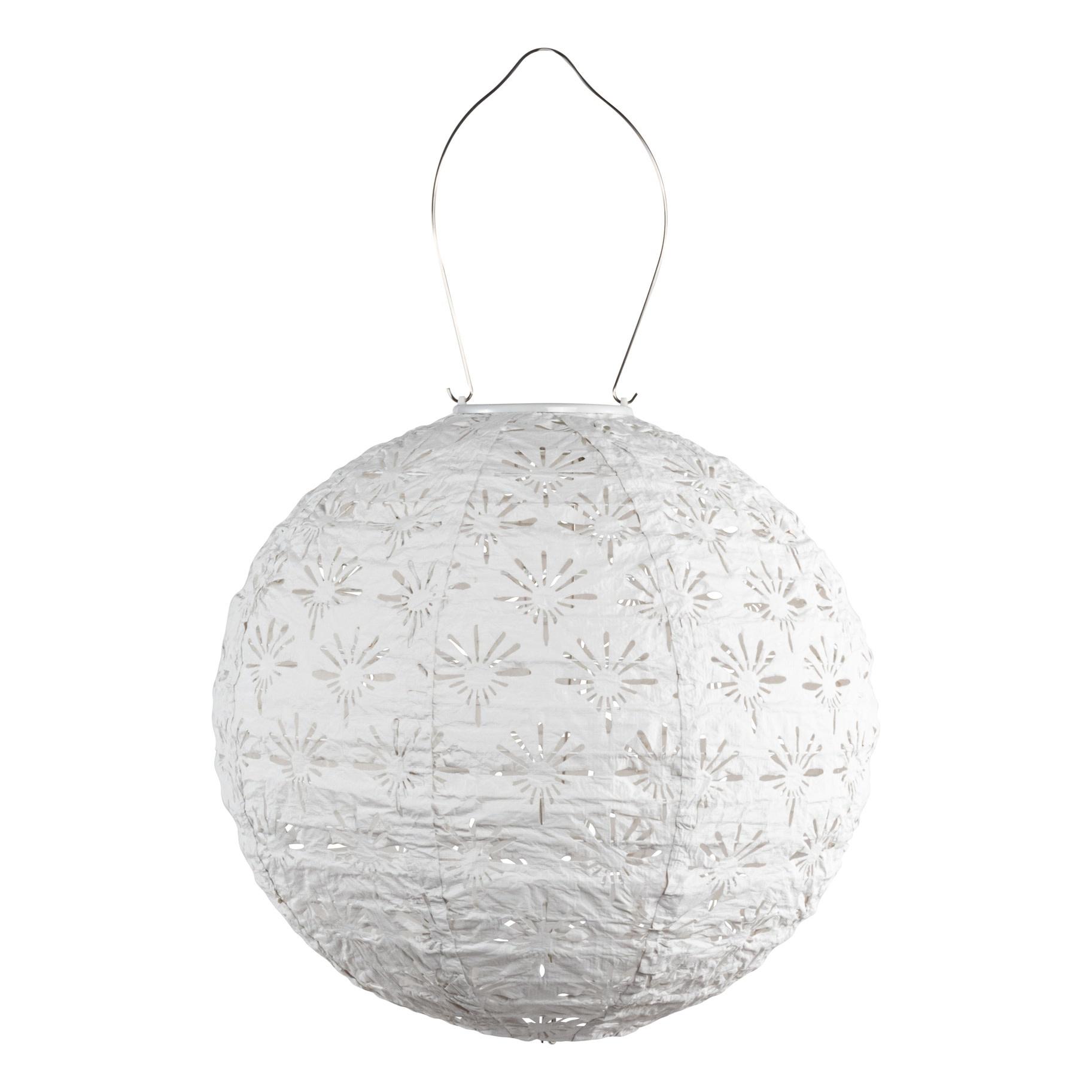 """Globe Stella Deco Globe - White 12"""""""